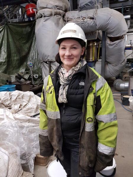 Roosa Lipsanen, energy engineering student