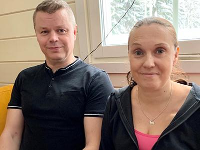 Harri Jokinen ja Maija-Leena