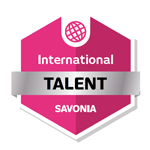 International Talent osaamismerkki