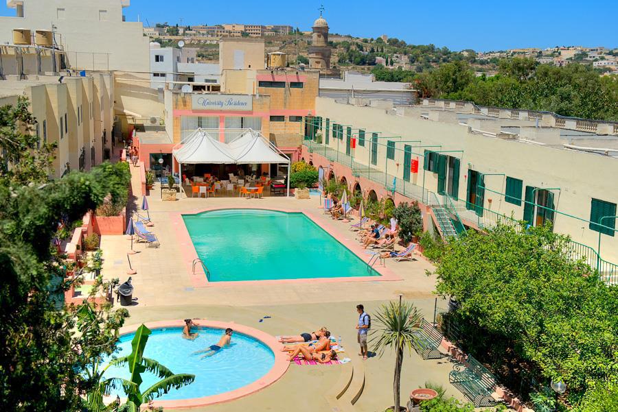 Maltan yliopiston residenssi