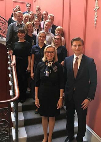 Suomen suurlähetystö Lontoossa.