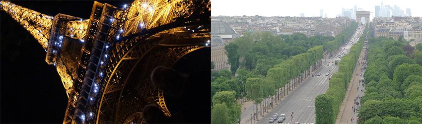 Kuvia Tarun ajalta Pariisissa.