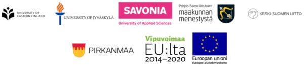 Yhteistyökumppaneiden logot.