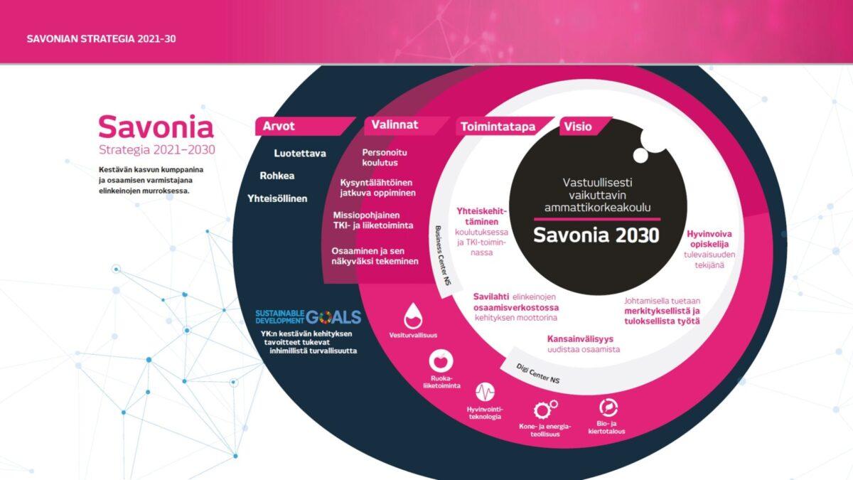 Savonian strategia kuva vuosille 2021-2024