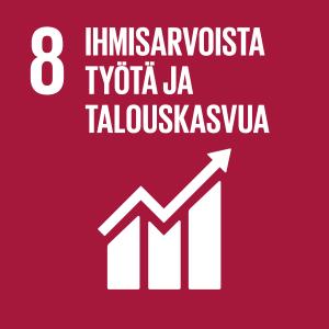 Tavoite 8 - Ihmisarvoista työtä ja talouskasvua