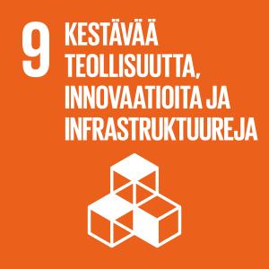Tavoite 9 - Kestävää teollisuutta, innovaatioita ja infrastruktuureja