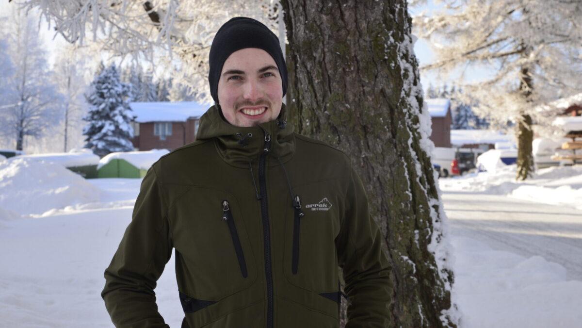 Kuvassa Lauri Vasalampi.
