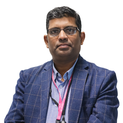 Picture of the Senior Lecturer Rajeev Kanth