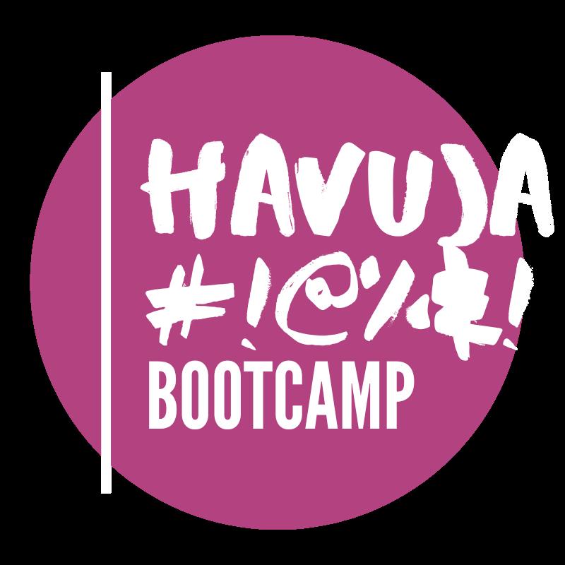Havuja Bootcamp -pallologo.